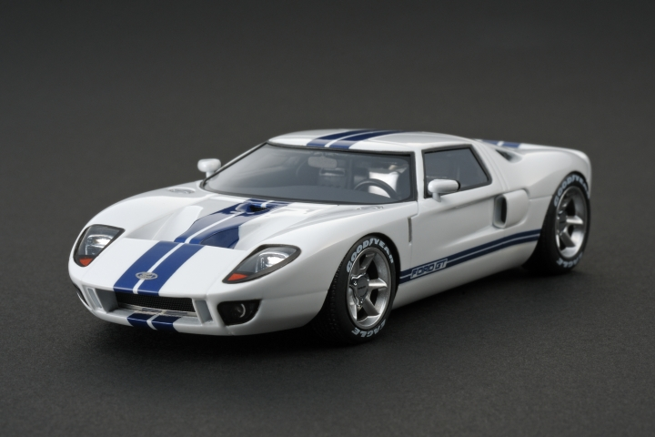 Ford Gt Concept White
