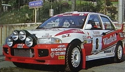 Mitsubishi Lancer Evo Iii Group A 1995 Racing Cars